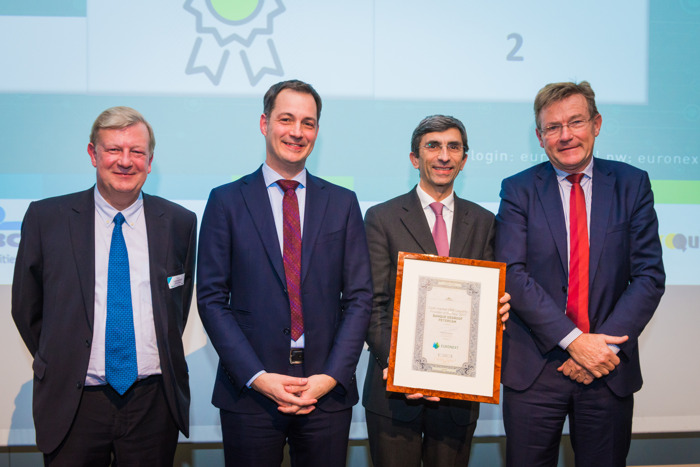 Degroof Petercam awarded Best Liquidity Provider for the eighth consecutive year