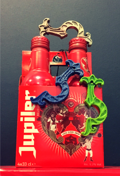 Jupiler - Recycled bottle openers