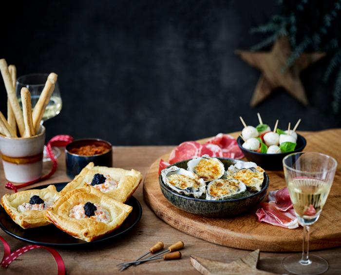 Du caviar et du homard à la table des fêtes de Lidl