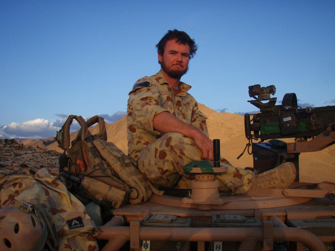 Mick Bainbridge served in five overseas deployments in East Timor and Afghanistan
