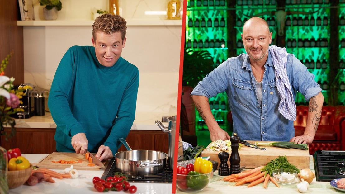 Dominique Persoone en Jani Kazaltzis koken in 'Cook Ensemble' vanaf 11 november dagelijks LIVE op VIER