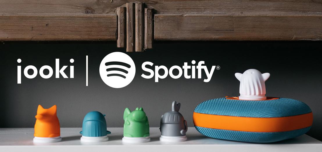 Jooki, de wifi-speaker voor kinderen, speelt nu ook Spotify