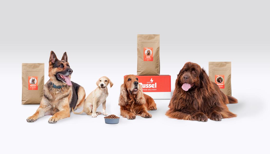 Just Russel levert gepersonaliseerde hondenvoeding aan huis