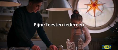 Onder de kerstboom: de eindejaarscampagne van IKEA, uitgetekend door Ogilvy Social.Lab