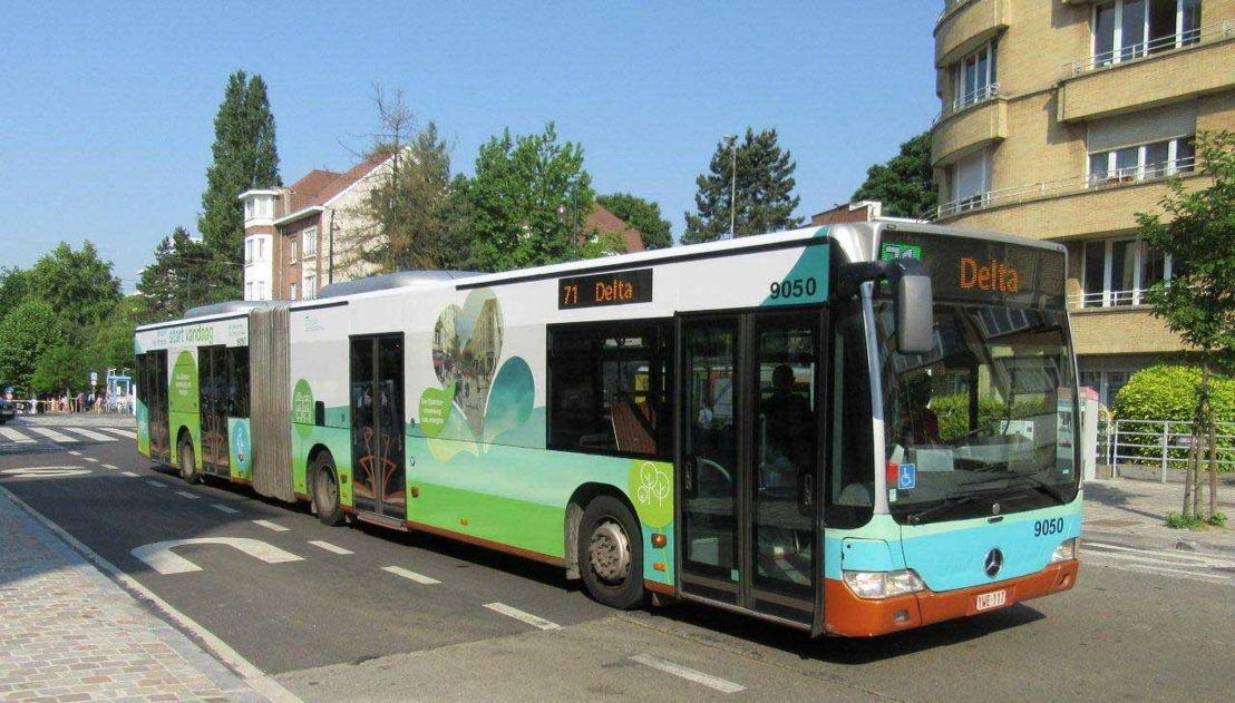 Bekleding MIVB-bus