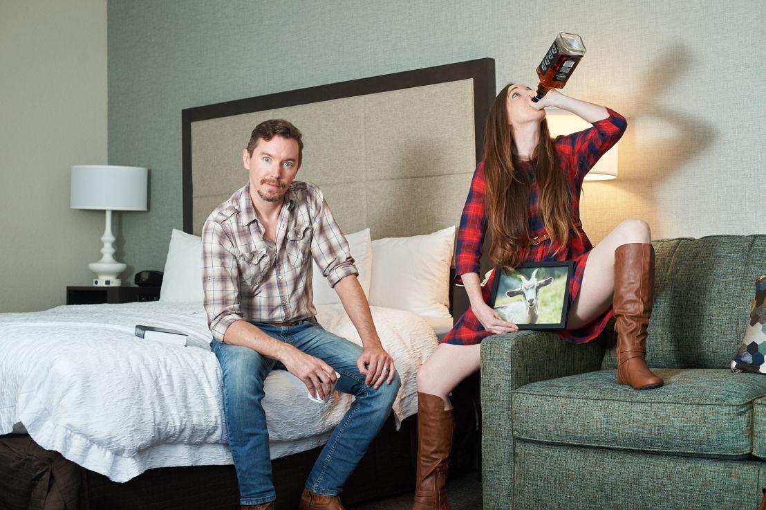 [L-R] Jeremy Aggers & Lauren Boyd Photo by Chris Bartelski