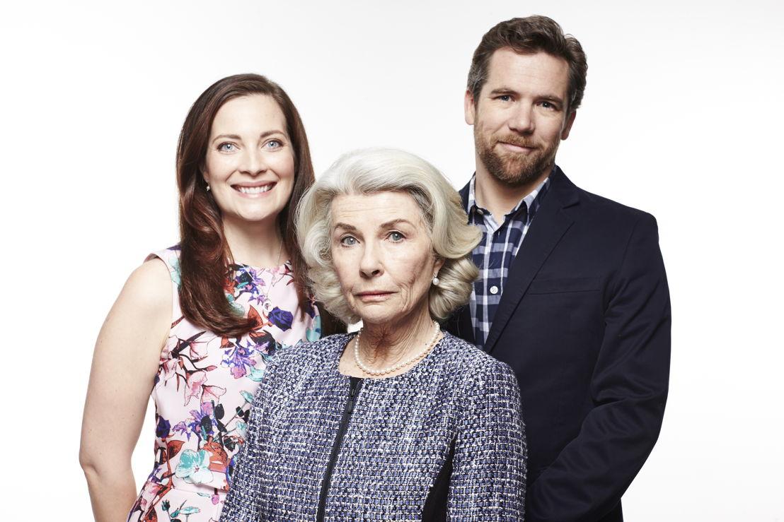 Bess Denyar (Annie Maynard), Margaret Denyar (Robyn Nevin), Danny Bright (Patrick Brammall)