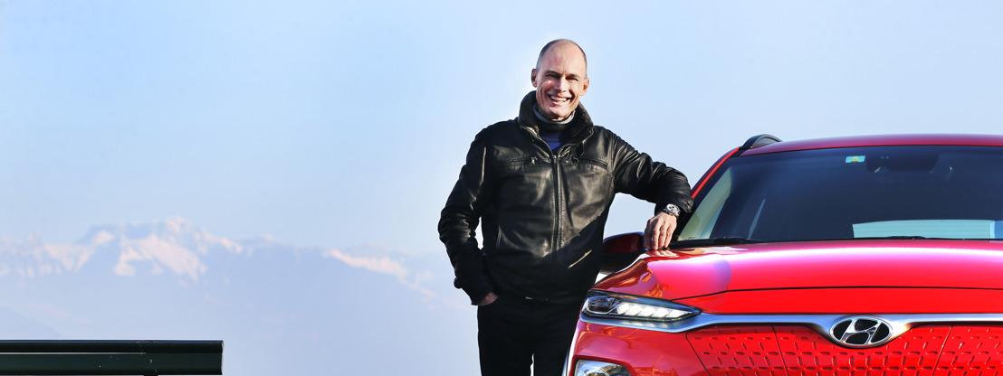 Bertrand Piccard en Hyundai