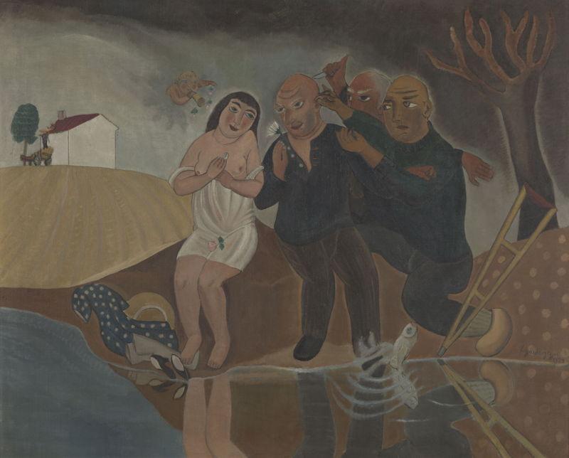 Edgard Tytgat, De tragische grijsaards, 1924, <br/>©Dominique Provost<br/>(c) SABAM Belgium 2017