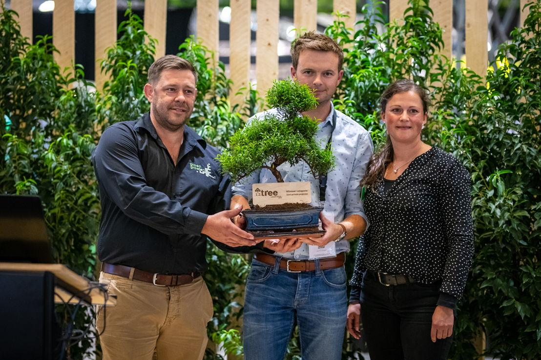 1.2.Tree Award Winaar Semi-privaat project: Marc Galle, Stijn Deconinck, Marie-Ange Eneman © Green