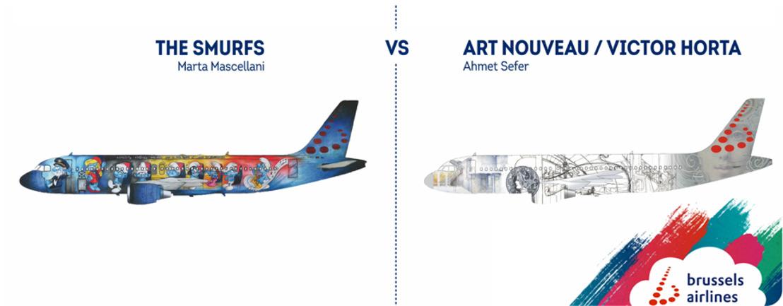 Les Schtroumpfs et l'Art Nouveau, les finalistes pour le 5ème Belgian Icon