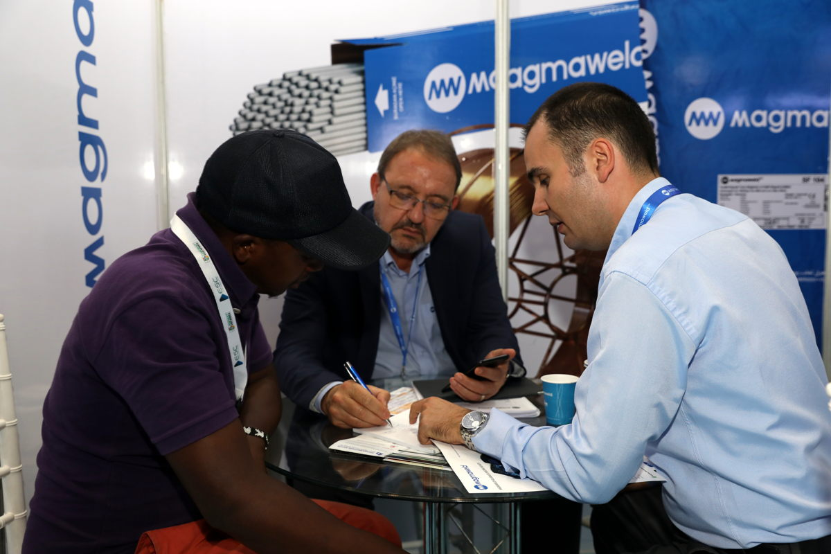 Business at The Big 5 Construct East Africa 2018