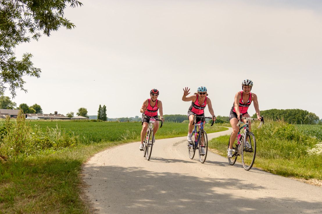 Bike for Think Pink kleurt roze over de grenzen