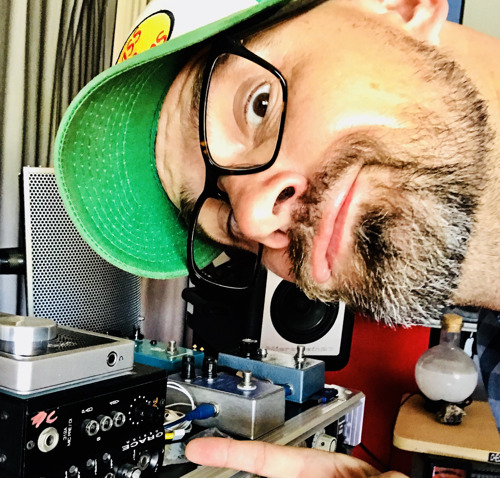 Christian James Hand of The Session Radio Show Discusses the 'Building Blocks' of Studio Recording, with the BAE 312A Preamp by His Side