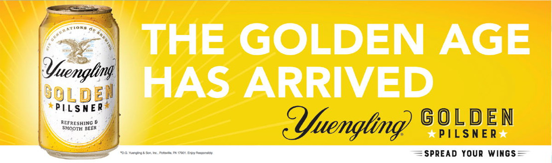 Yuengling Celebrates Release of Golden Pilsner