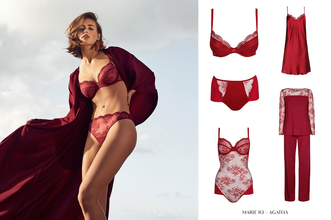 Five wintertrends for 2018 applied to lingerie