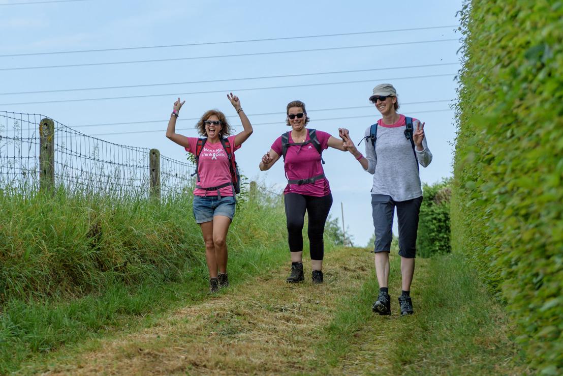 Les Ardennes comme décor d'un défi sportif contre le cancer du sein