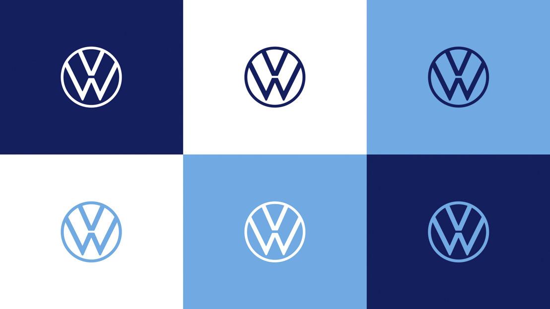 Volkswagen toont nieuwe merkidentiteit en nieuw logo