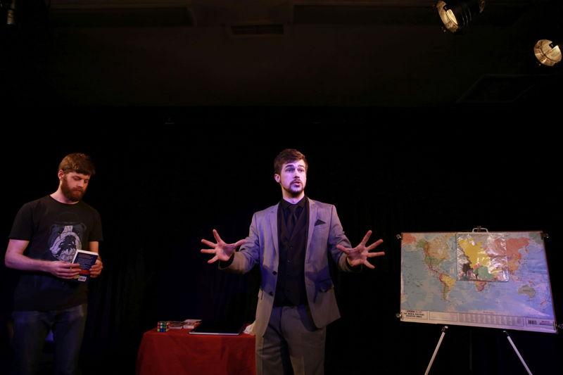 Brendan Peel in Hocus Pocus. Image by Nardus Engelbrecht