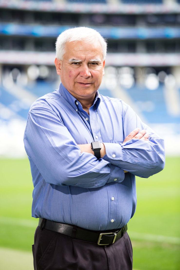 Patricio Xavier Beltrán, consultor de la empresa BeSa (Beltrán Saldívar Consulting), responsable de la implementación tecnológica del estadio.