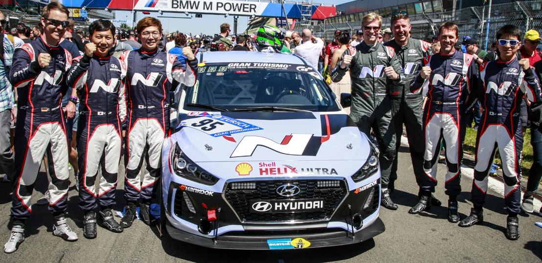 Mission accomplished – both Hyundai i30 N models completed the Nürburgring 24-hours race