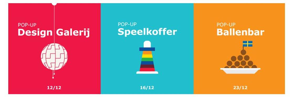 IKEA opent drie tijdelijke pop-ups in Hasseltse binnenstad
