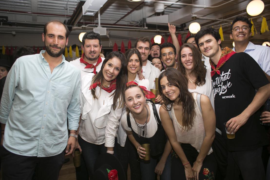 Los Sanfermines reciben a WeWork Torre Reforma Latino 2.0