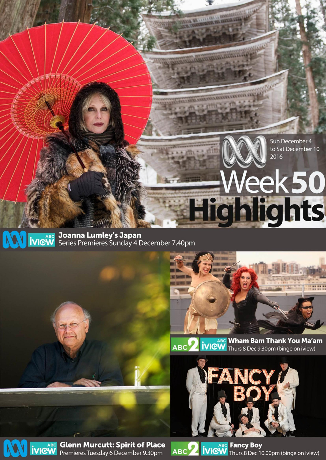 ABC Program Highlights -  Week 50