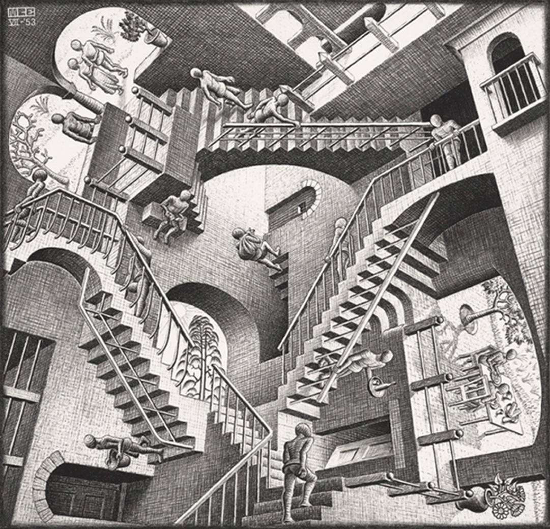 Begoocheling(c)M.C. Escher