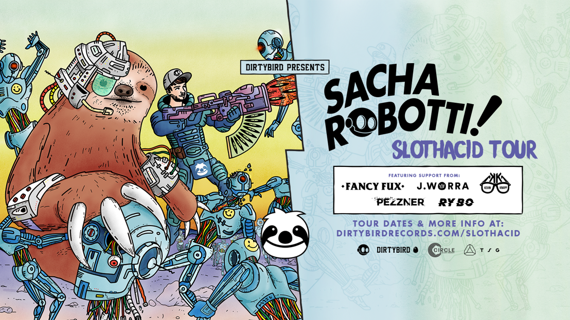 Sacha Robotti Announces 'SlothAcid' North American Tour