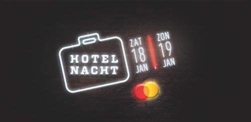 Programma Hotelnacht 2020 bekend