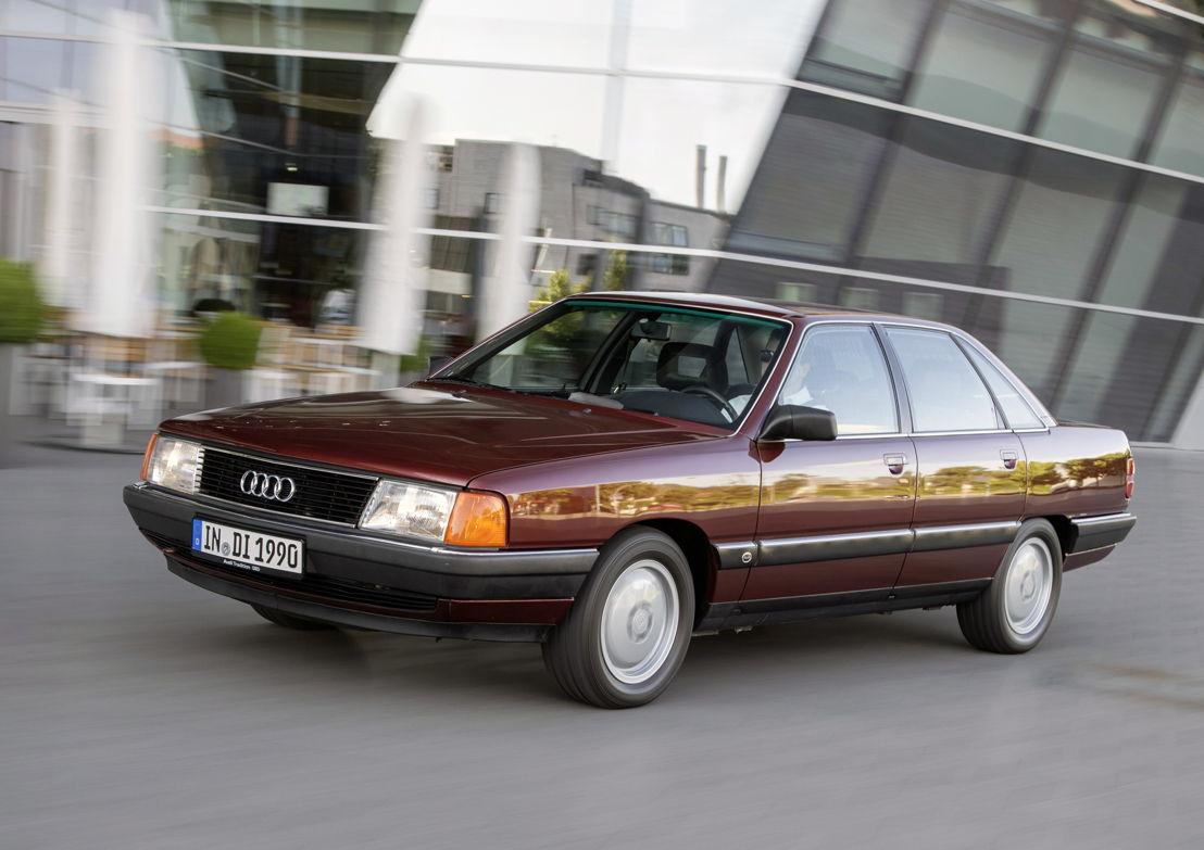 Audi 100 TDI (C3), model year 1990