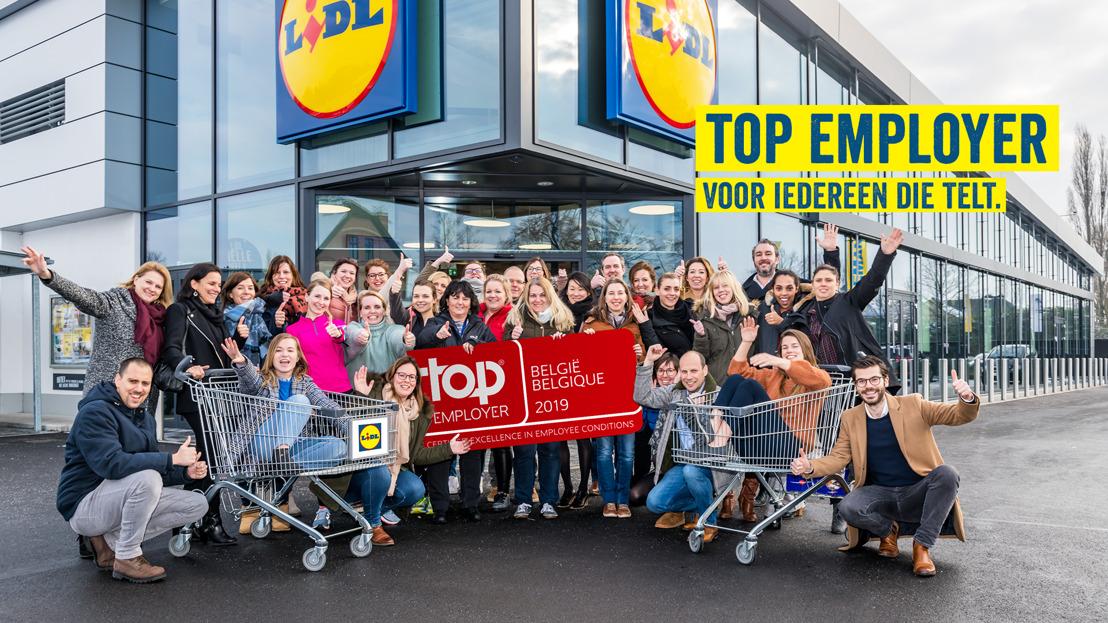 Lidl is verkozen tot Top Employer 2019