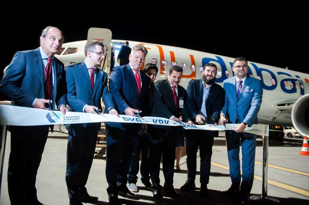 فلاي دبي تدشن رحلاتها الى كراكوف البولندية