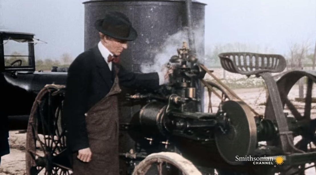 America in Color - afl 1 - Henry Ford - (c) Smithsonian Channel