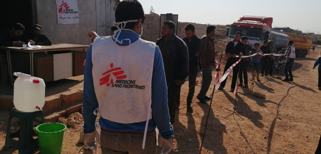 COVID-19 in northwest Syria: Taking risks simply to survive
