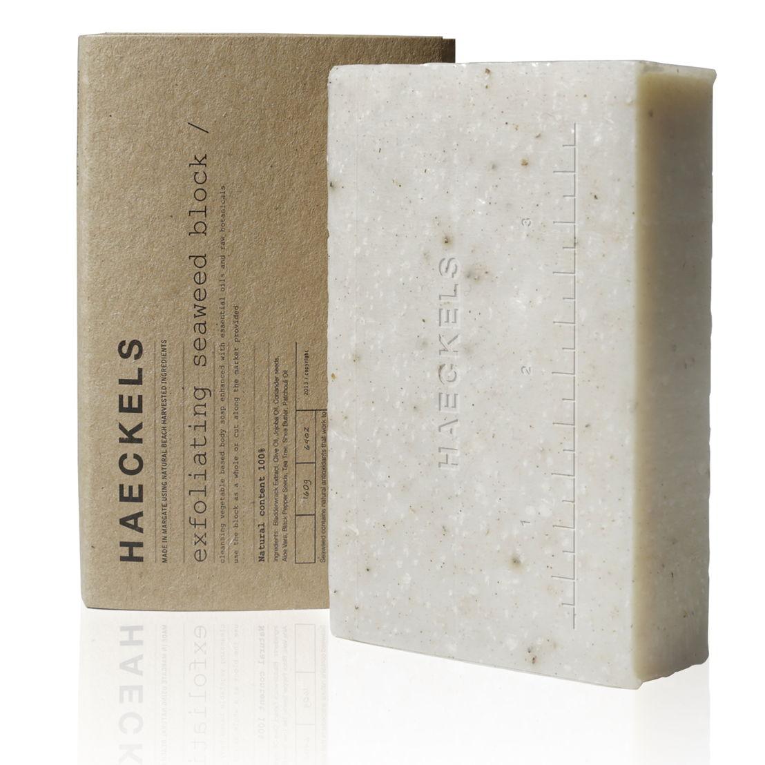 GR13 - Haeckels - Exfoliating soap - 12.50 euro