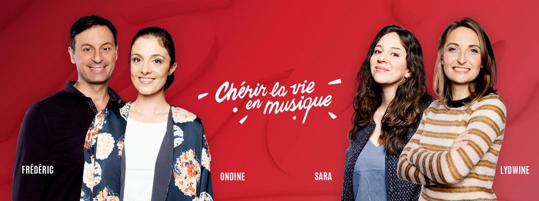 Chérie présente une nouvelle voix, de nouvelles émissions et un nouveau site web