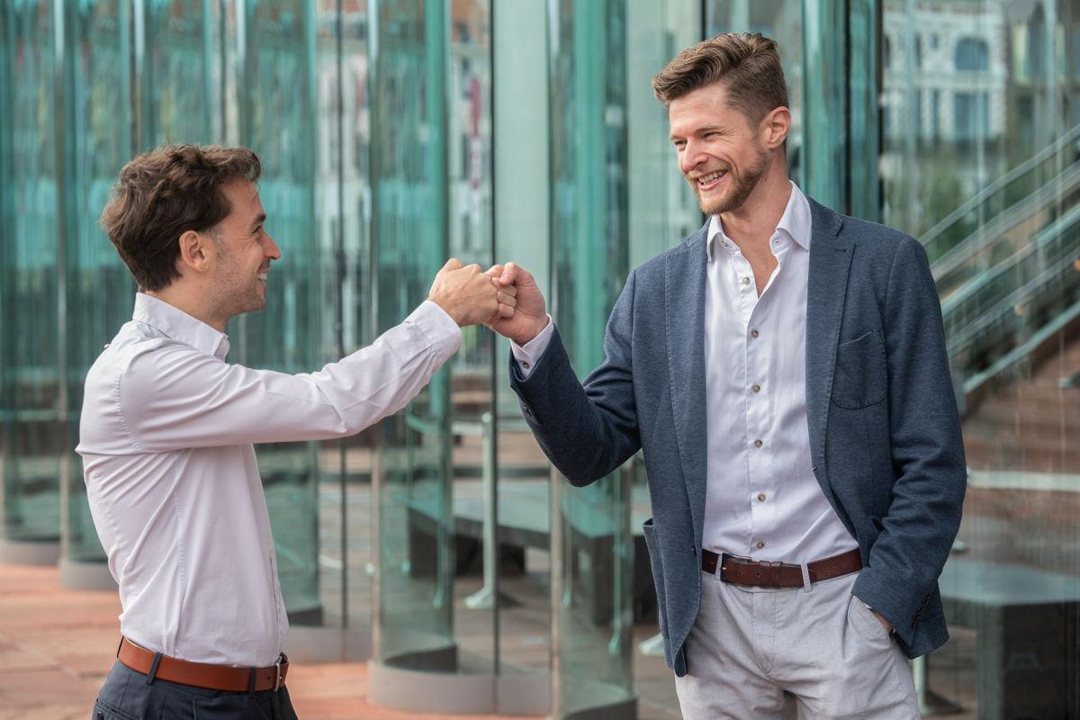 Jonathan van Driessen & Anthony Lamot, fondateurs de DESelect