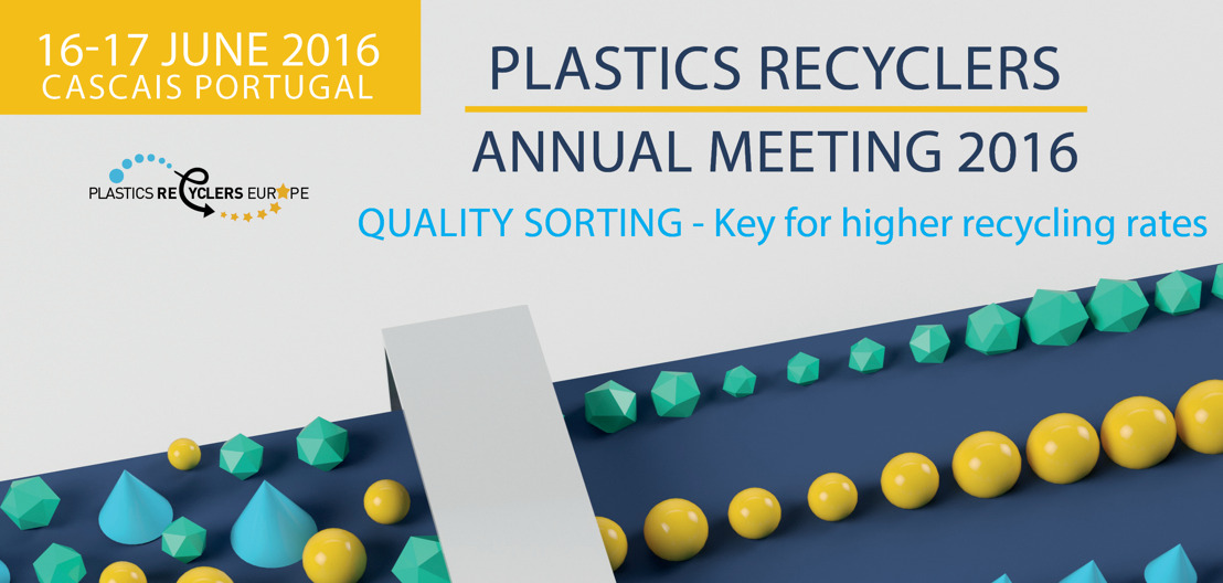 Plastics Recyclers Europe Annual Meeting 2016 & 20th Anniversary
