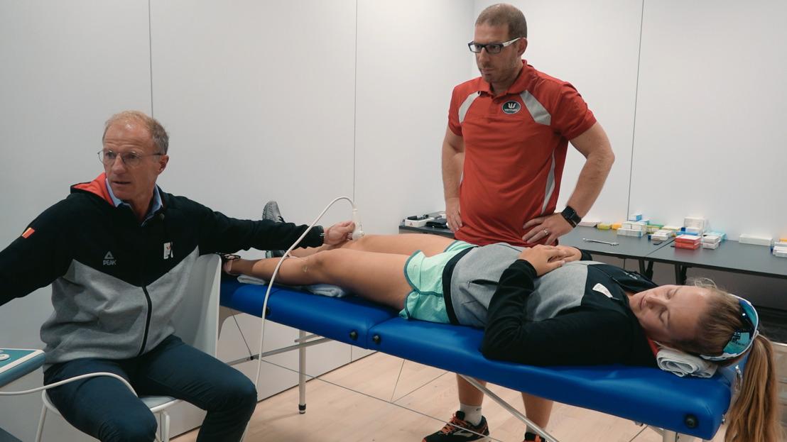Prof. Bellemans op oefenstage met Belgische Olympische atleten in Topdokters