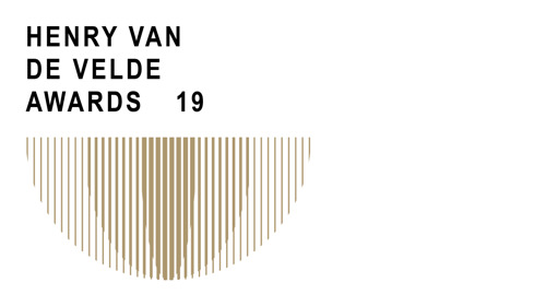 Invitation Press conference Henry van de Velde Gold Awards 19