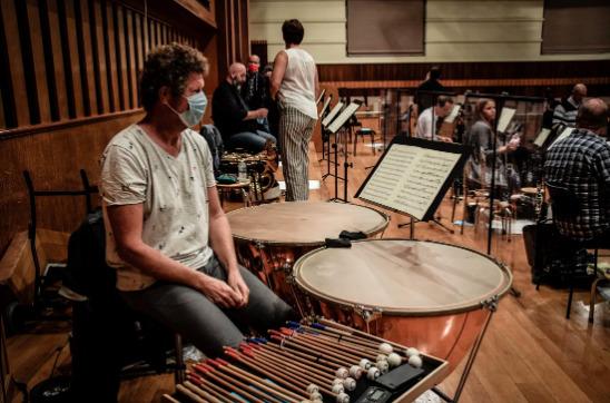 Le Brussels Philharmonic remonte sur scène six mois après l'entrée en vigueur du confinement