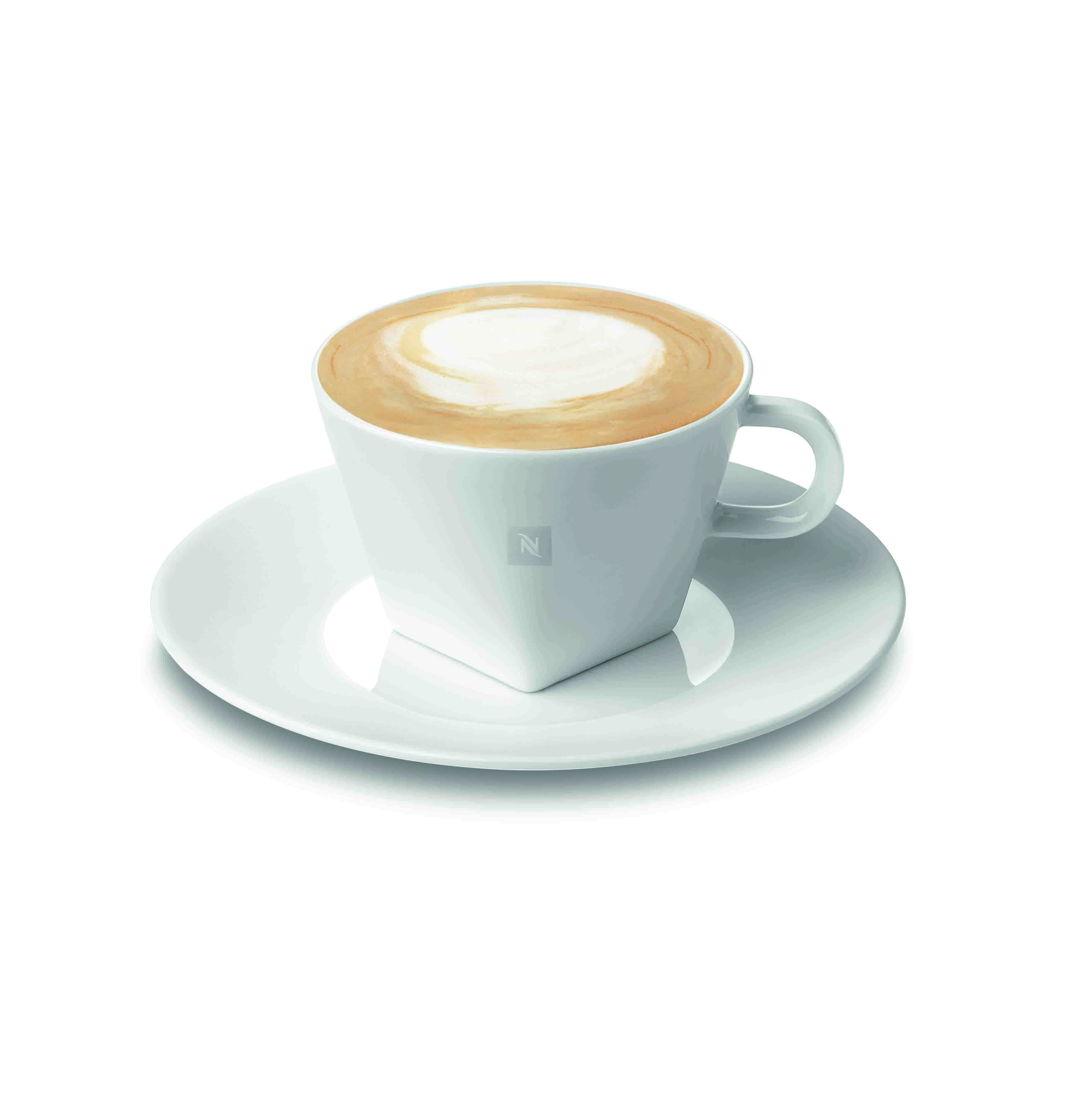 Nespresso - 2 tasses Cappuccino avec sous-tasses assorties (24 €)