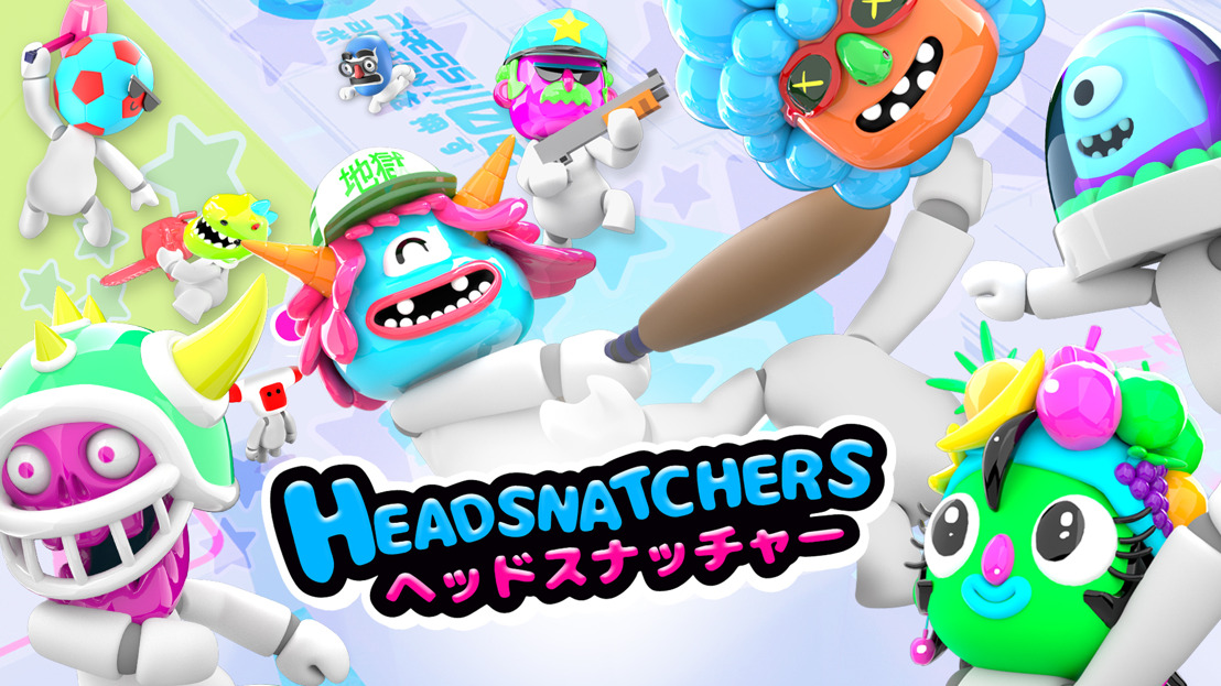 Party game Headsnatchers Out Today on PC and Nintendo Switch