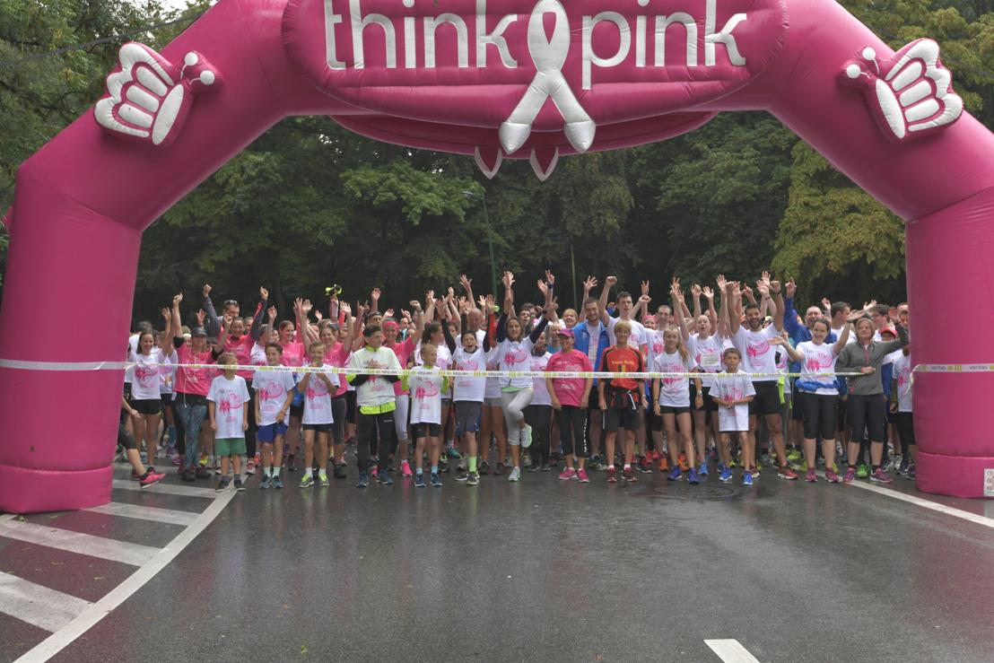Race for the Cure Brussels lokt recordaantal deelnemers