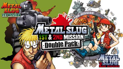 La collection rétro Metal Slug 1st & 2nd Mission Double Pack est désormais disponible sur Nintendo Switch