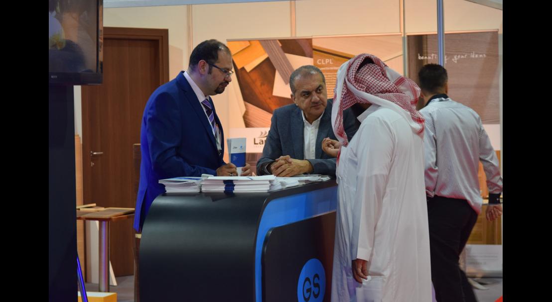 networking at The Big 5 Saudi 2017