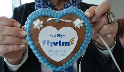 Seit heute fliegt VLM Airlines von München zwei neue Ziele an: Antwerpen und Maribor