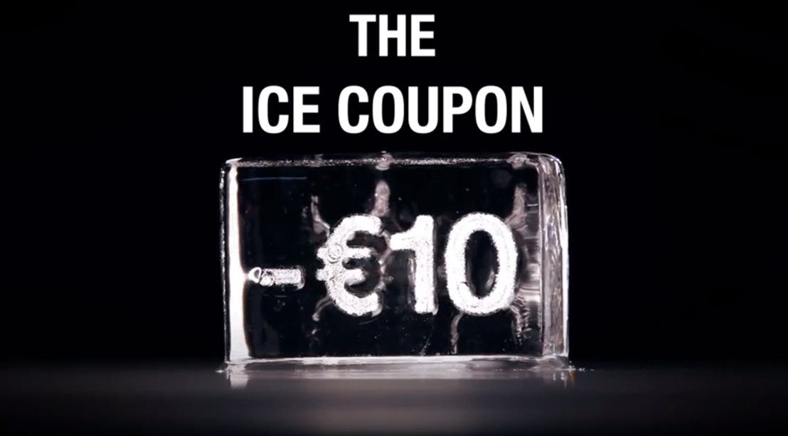 Finalist Prize Award for CKS' Ice Coupon.